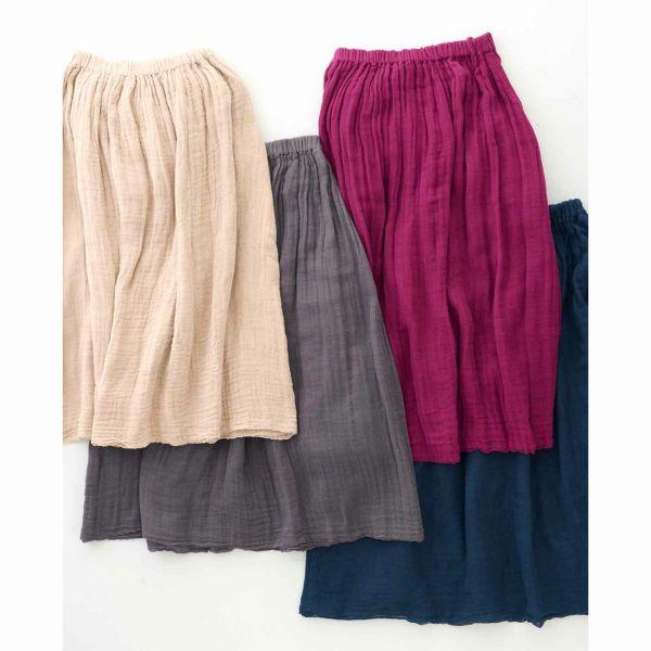 かやスカート6色展開
