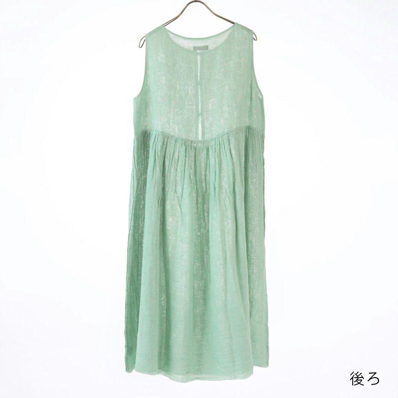 かやスリーブレスドレス